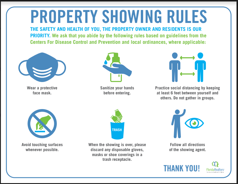 Property Showing Rules